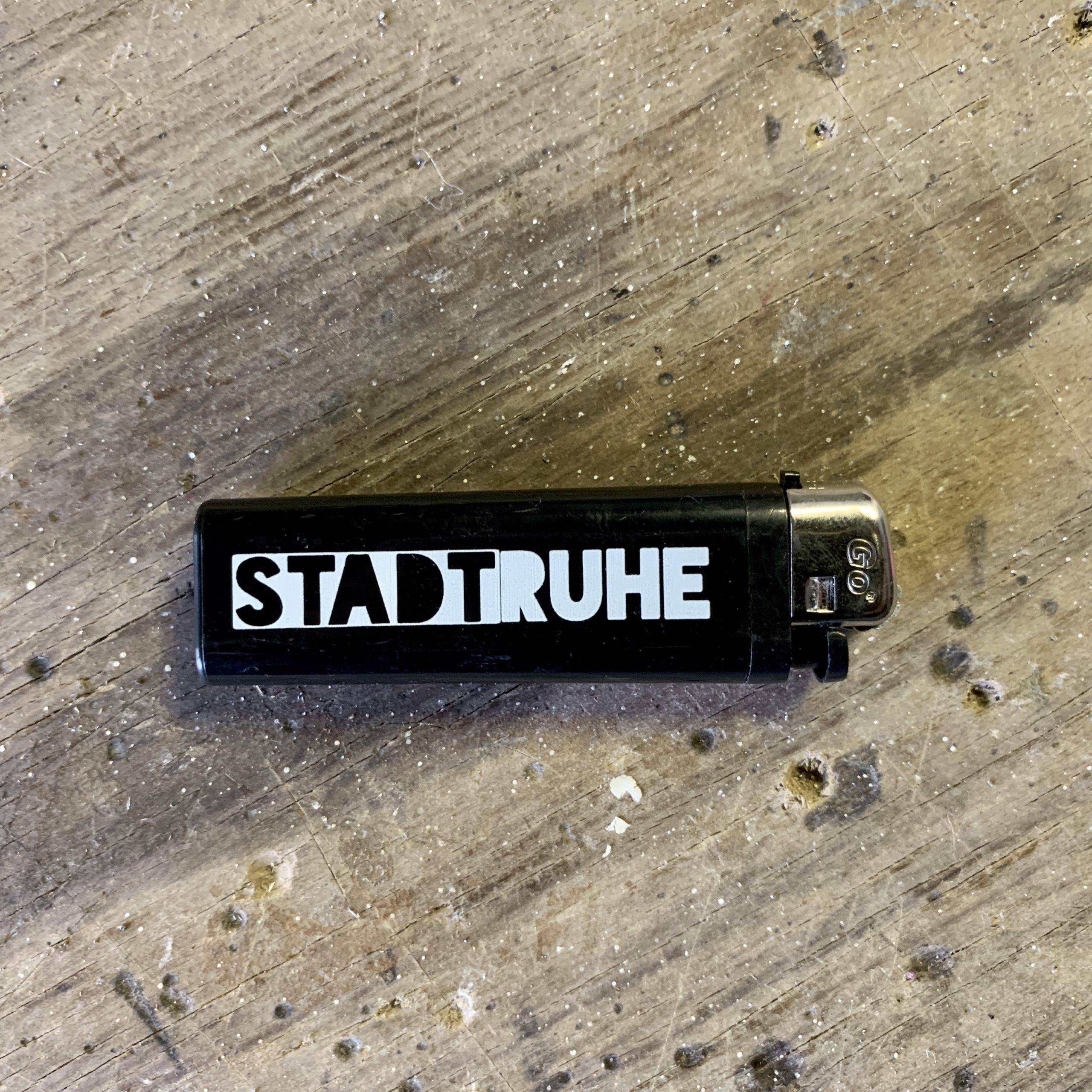 Feuerzeug – STADTRUHE Logo
